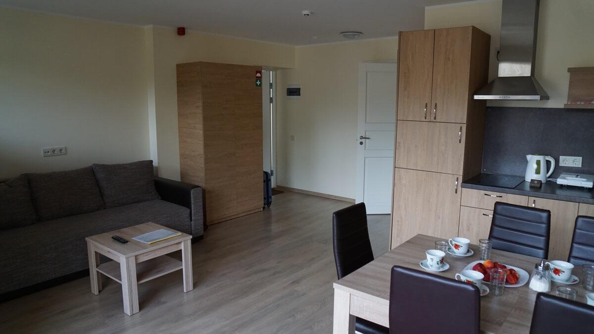 Apartment: Studio+Bedroom in one floor