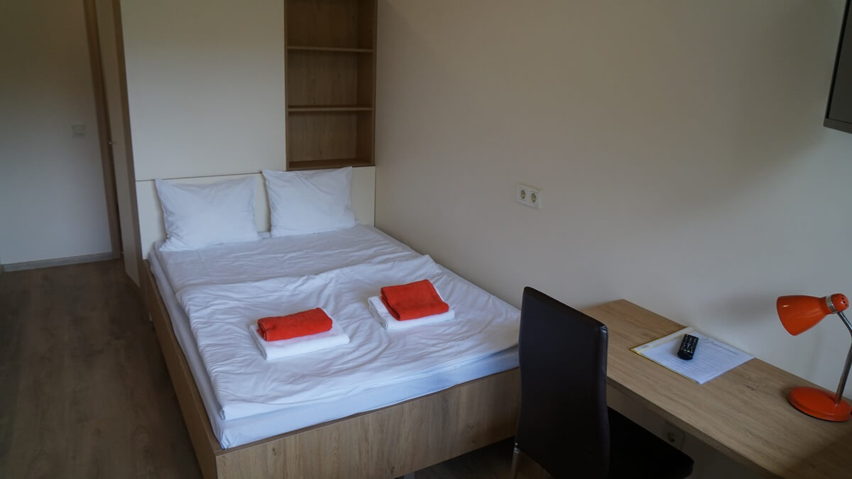 Double room with King size bed